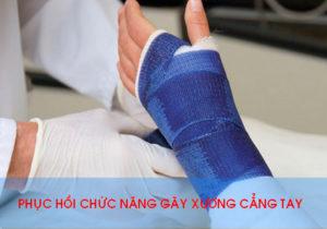 dieu tri vat ly tri lieu phuc hoi chuc nang sau gay xuong cang tay